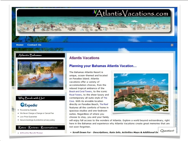 Atlantis Vacations